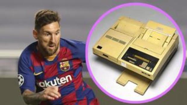 Lionel Messia and a fax machine