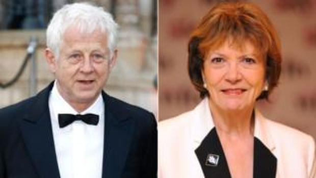 Richard Curtis and Joan Bakewell