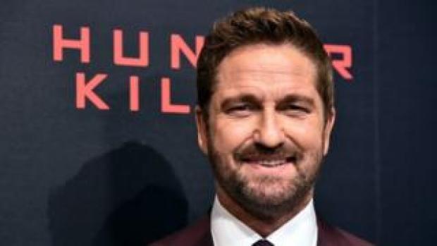 Actor Gerard Butler attends the Hunter Killer world premiere in New York. Photo: 22 October 2018