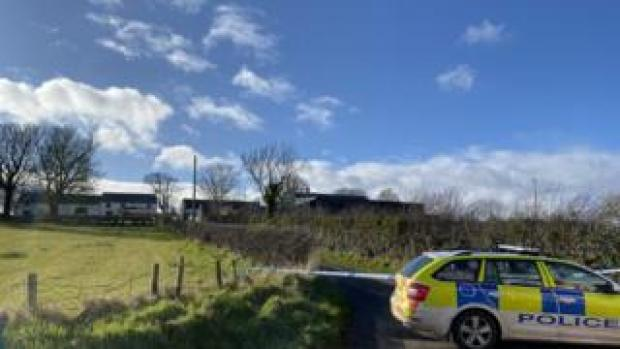 The scene of the incident on the Bankhall Road