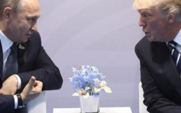 The two leaders had a private conversation during the 2017 G20 summit in Hamburg