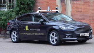 Addison Lee self driving car