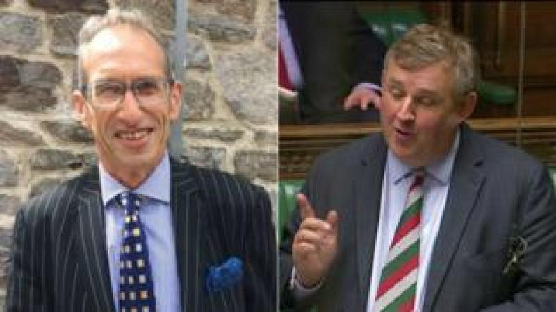 Julian Isaacs and Oliver Colvile