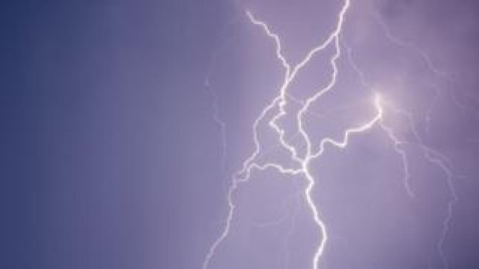 Lightning over Germany
