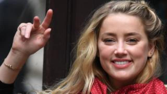 Amber Heard arrives on the 13th day of the libel trial