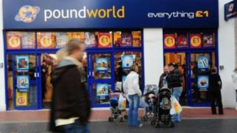 Poundworld shop