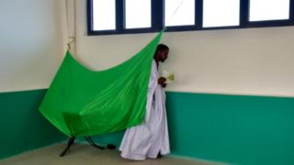 - A man leaves the polling booth prior to voting on June 22, 2019 at a polling station in Nouakchott during the presidential election in Mauritania. - Voters in the West African state of Mauritania went to the polls on June 22, 2019 after a campaign dominated by the country's economy and appeals to preserve its hard-won stability.