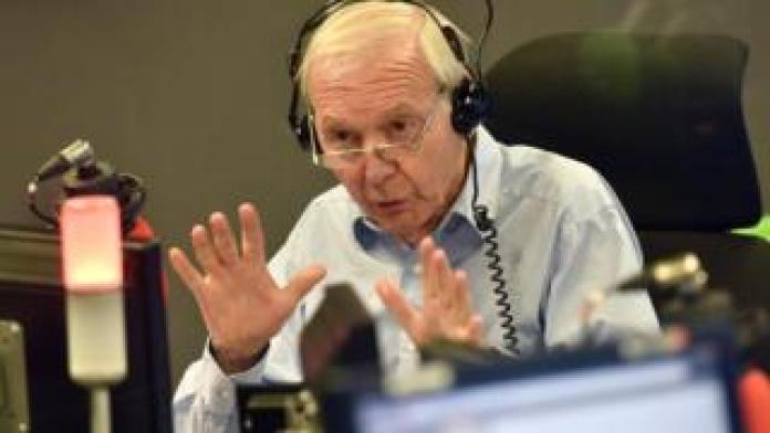 John Humphrys in the Today programme studio