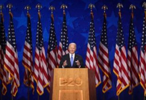 Biden at convention