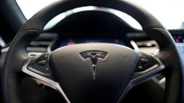 A Tesla vehicle was involved in a deadly crash on Sunday