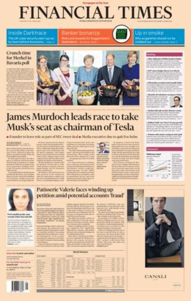 Financial Times - 11 Oct