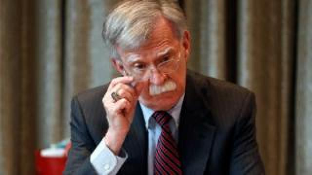 US National Security Advisor John Bolton said the US supported a no-deal Brexit