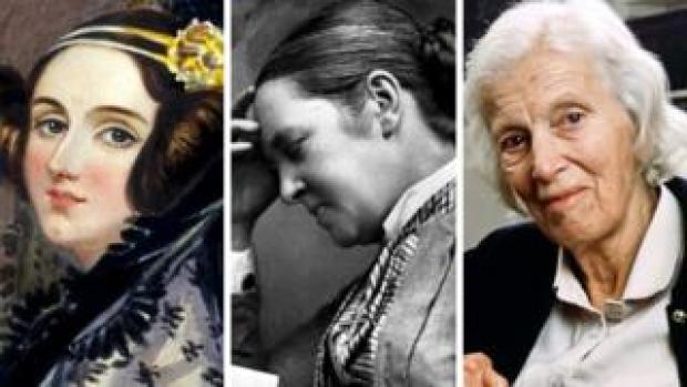 Ada Lovelace, Elizabeth Garrett Anderson, Dorothy Hodgkin