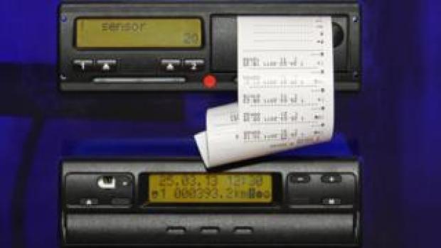 Tachograph device