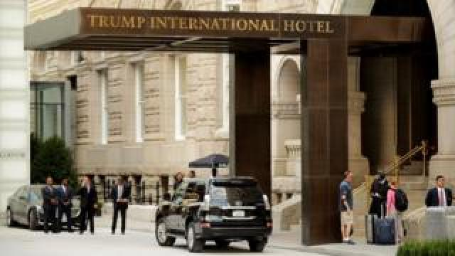 The report shows Trump Old Post Office LLC was an important part of his holdings, bringing in income of $40.4m in 2017, its first full year in operation.