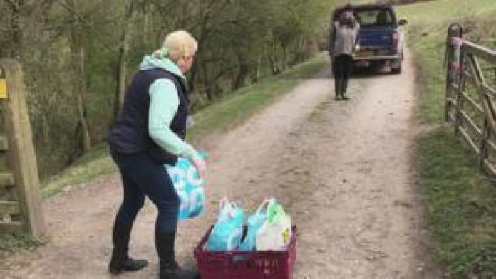 Food delivery in North Yorkshire