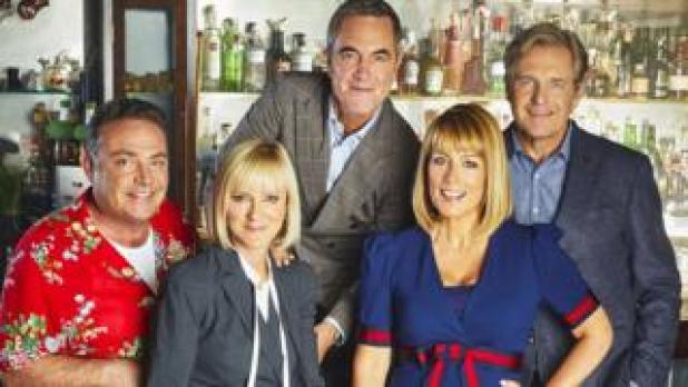 John Thomson, Hermione Norris, James Nesbitt, Fay Ripley and Robert Bathurst
