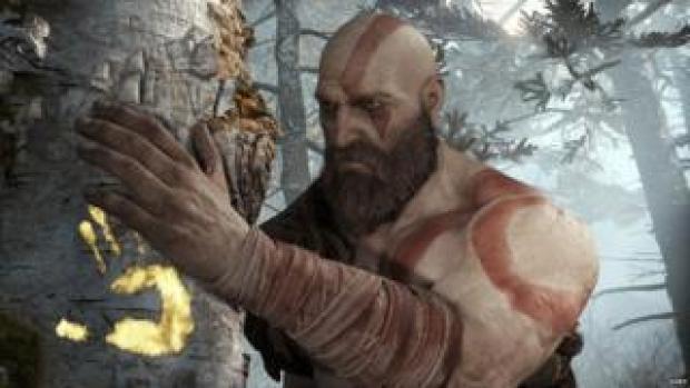Kratos in God of War