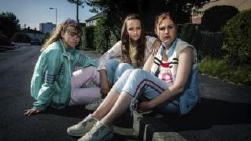 still from BBC drama Three Girls