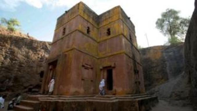 Rock-hewn churches at Lalibela