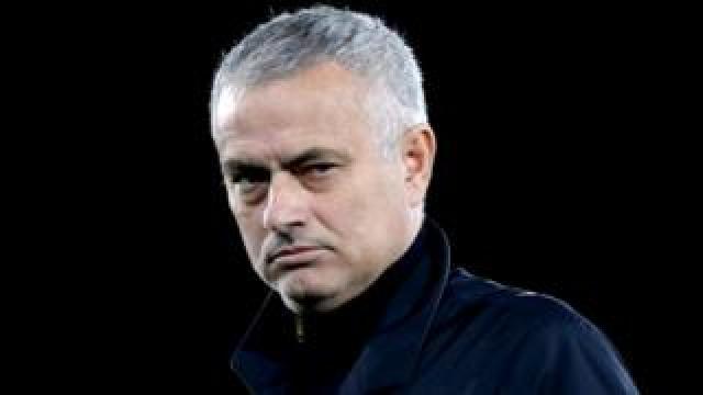 Former Manchester United manager Jose Mourinho, 1 December 2019