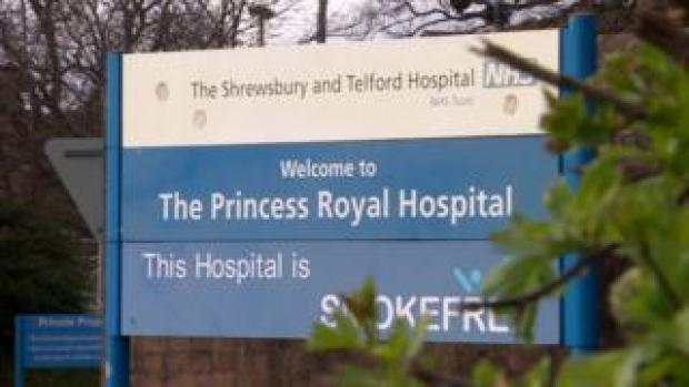 Princess Royal Hospital sign