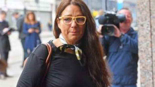 Anderton Park head teacher Sarah Hewitt-Clarkson arrives at the Priory Law Courts in Birmingham ahead of a hearing to reconsider an injunction prohibiting anti-LGBT lessons protesters from being in the immediate surroundings of the School.