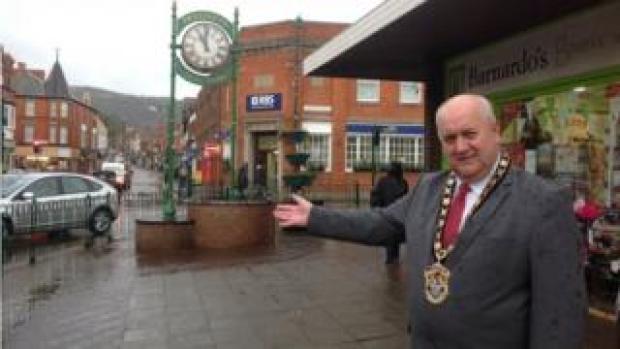 Prestatyn mayor Bob Murray