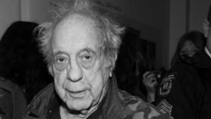 """Photographer Robert Frank attends the opening of """"Robert Frank, Books And Films, 1947 - 2016"""" at The Tisch Galleries on 28 January 2016 in New York City."""