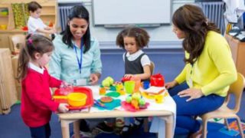 Nursery classroom