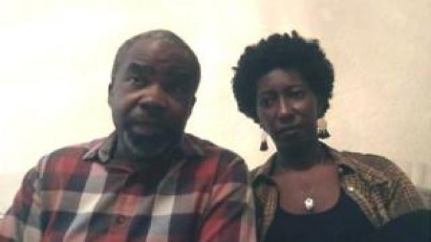 Falil Onikoyi and Ingrid Antoine-Onikoyi