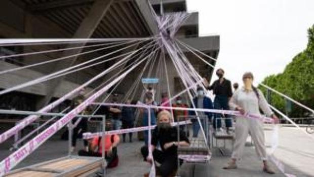 National Theatre gets wrapped up