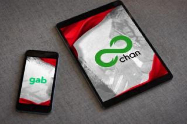 Gab and 8chan
