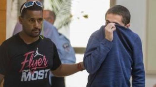 Michael Ron David Kadar (Bild rechts) hat angeblich Hunderte von Bombendrohungen gemacht