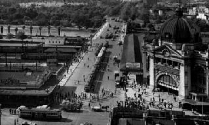 Melbourne in 1955