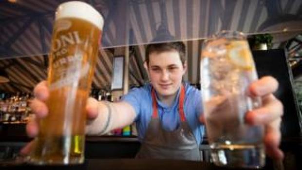 Pub barman