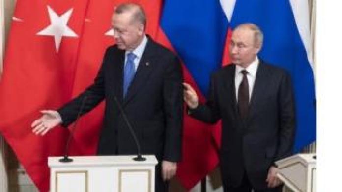 Putin and Erdogan