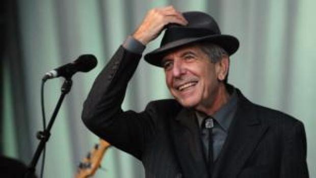 Leonard Cohen in 2008