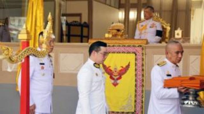 Vichai cremation Bangkok temple
