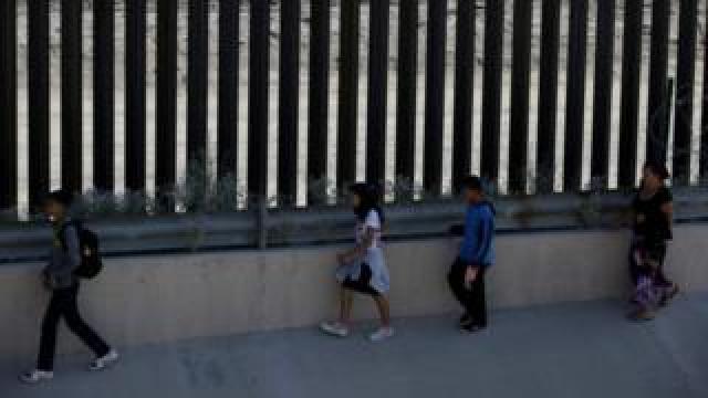 Migrants in El Paso, Texas