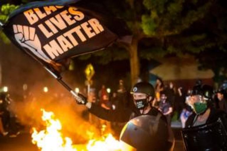 Protests have been continuing in Portland, entering their third consecutive month in September