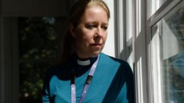Vickie Peters, St Helena Hospice chaplain
