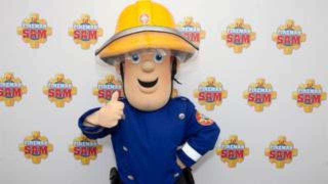 Fireman Sam character