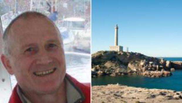 Phillip Evans and Faro de Cabo de Palos