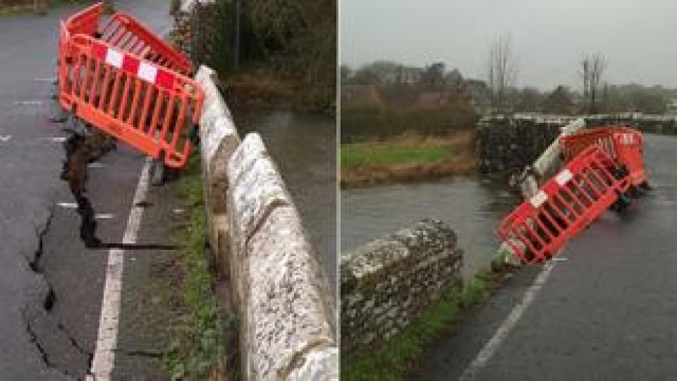 Wool Bridge collapse