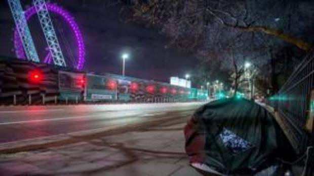 Almost half of England's rough sleepers are in London