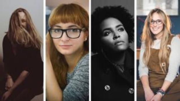 Jennifer McCord, Iulia David, Holly-Marie Cato, Amy Shore