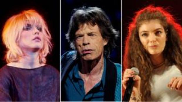 Blondie, Mick Jagger and Lorde