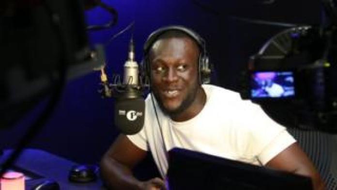 Stormzy on the BBC Radio 1Xtra Breakfast Show