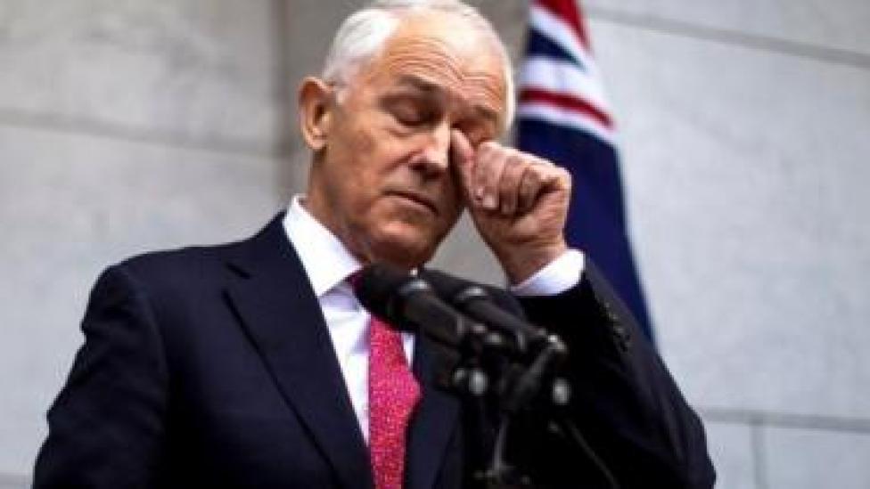 Rai'sal wasaaraha Australia Malcolm Turnbul